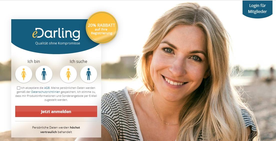 eDarling _ Seriöse Partnersuche Finden